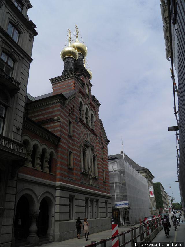 Православная церковь благоверного князя Александра Невского.