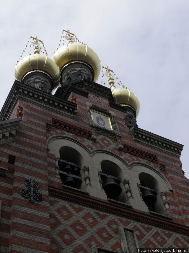 Маковки церкви
