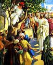 Согласно Библии, когда Христос направлялся в Иерихон, где жил Закхей, то последний, желая хоть издали увидеть Мессию, влез на смоковницу, так как был малого роста.