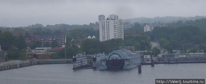 Барокамера для испытания подводных лодок
