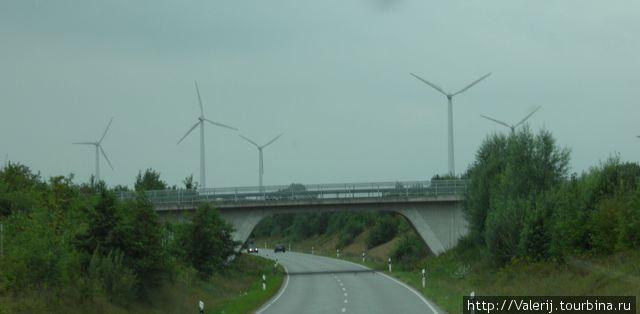 В окрестностях Киля. Альтернативная энергетика.