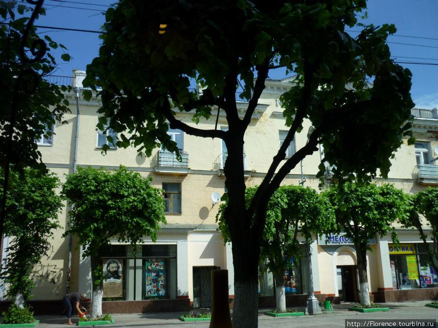 Улица Ленина, пешеходная зона
