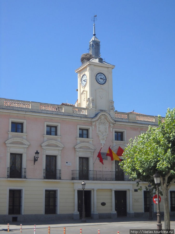Фасад мэрии