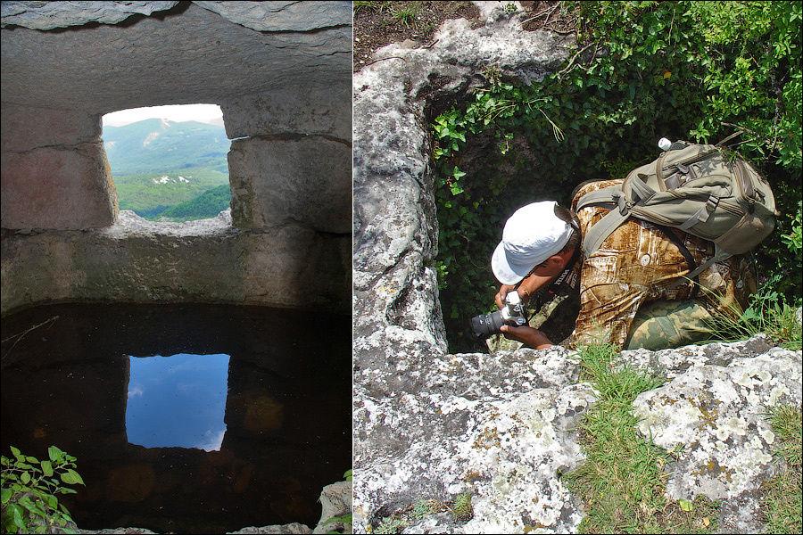 Комплекс пещер со склепами перед Цитаделью, июнь 2006 г.