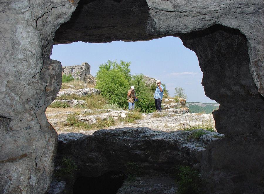 Вид из храма у