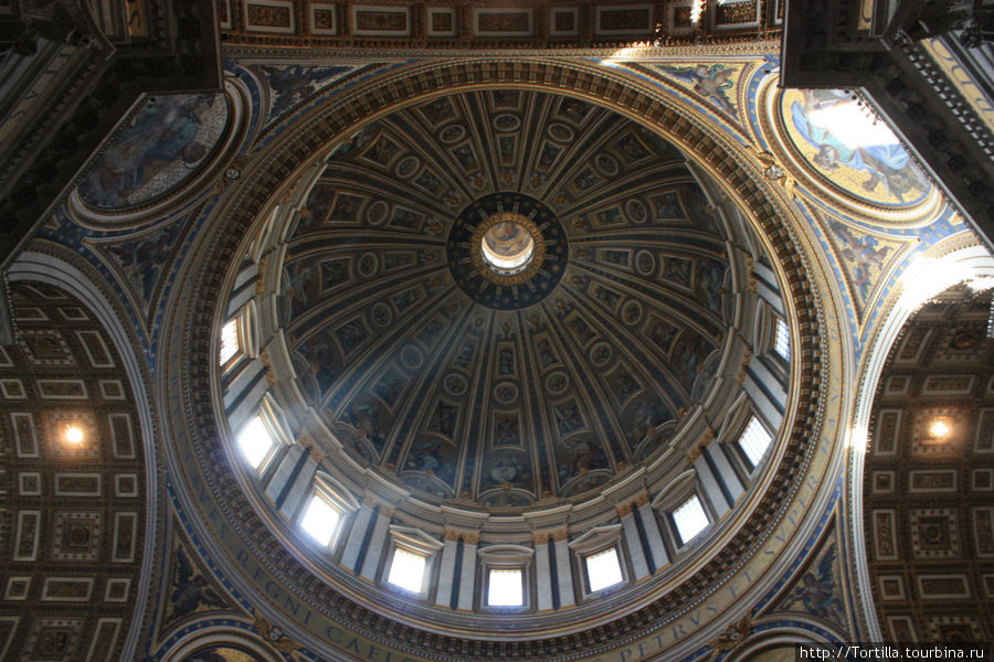 Ватикан. Купол Собора Свя