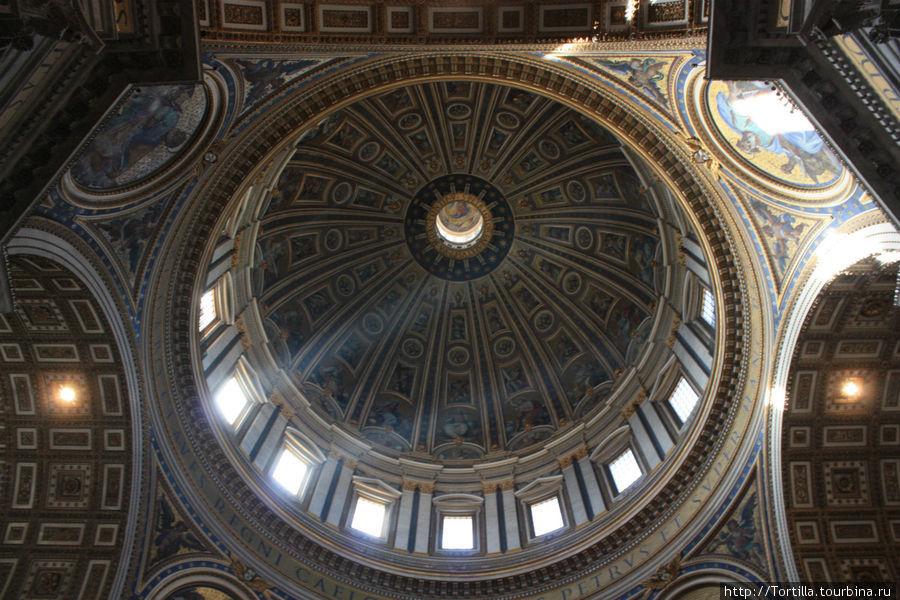 Ватикан. Купол Собора Святого Петра