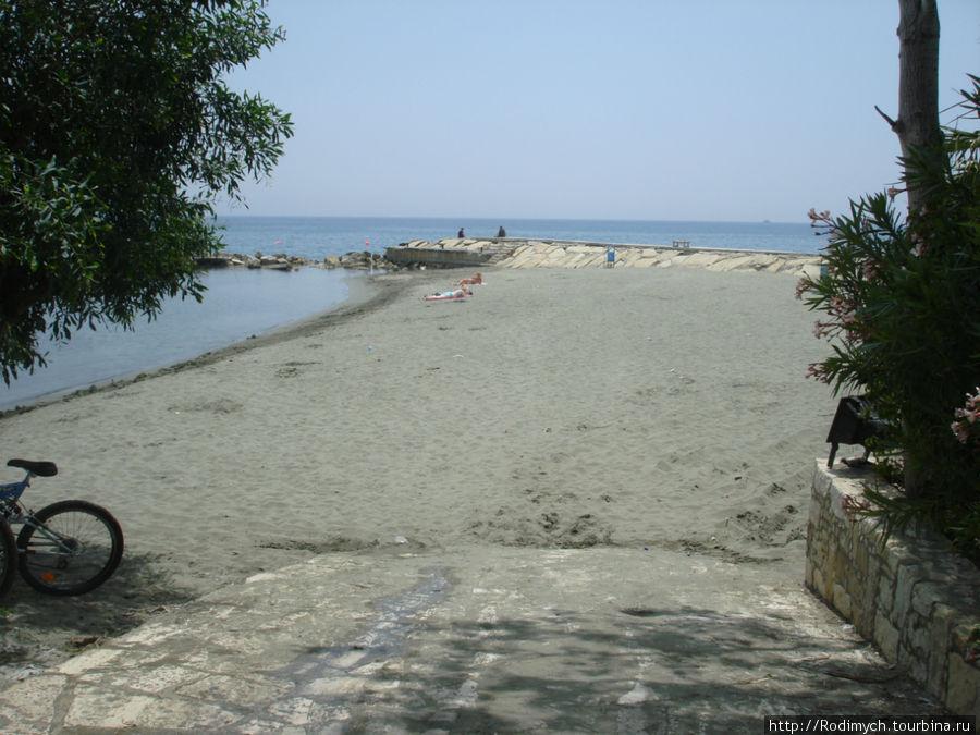 Вот он пляж