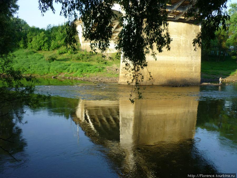 Днепр у моста