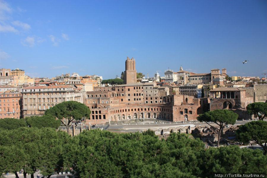 Рим. Форум Траяна
