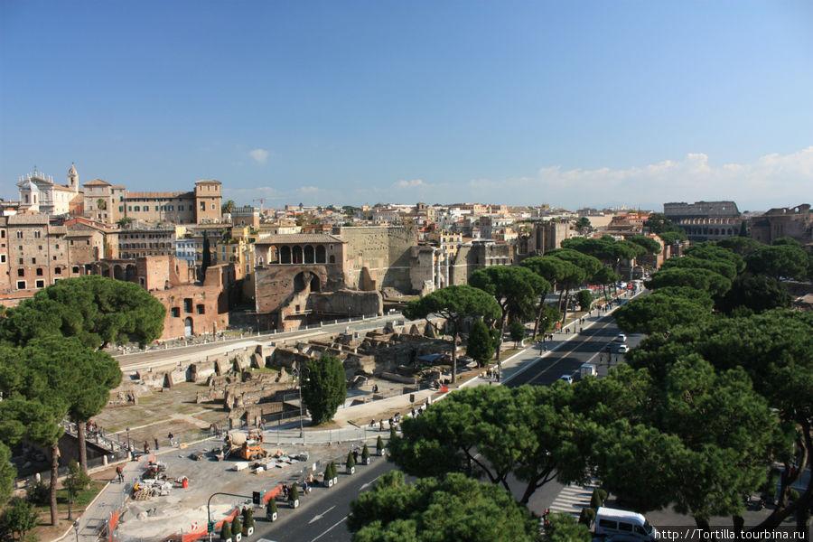 Рим. Виа Империале