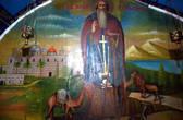 Святой Герасим был родом из Каппадокии. На путь монашеского служения Богу он встал, будучи еще юношей. Он подвизался в Фиваидской пустыне в Египте, а затем пришел в Палестину и поселился в Иорданской пустыне.