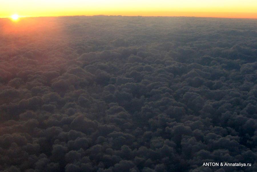 Небо над Атлантикой.