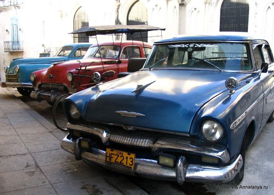 Кубинский автопарк.