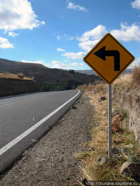 Дорога к Килотоа