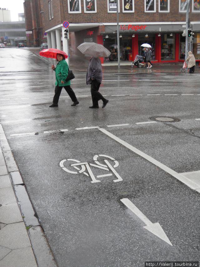 Внимание! Велосипед!