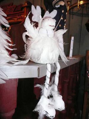 лось из перьев :))