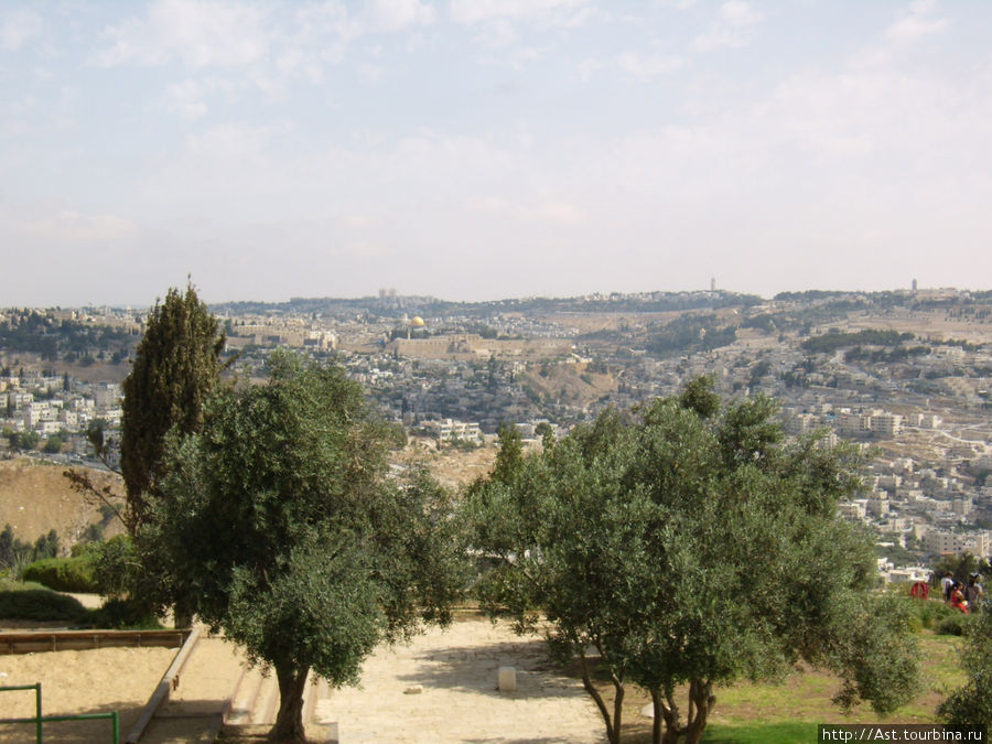 Вид на старый Иерусалим.