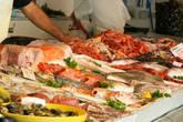 Рыбный рынок.