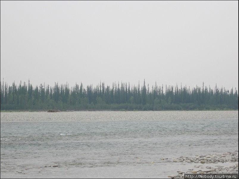 Восточная Хандыга — место днёвки остальных членов экспедиции