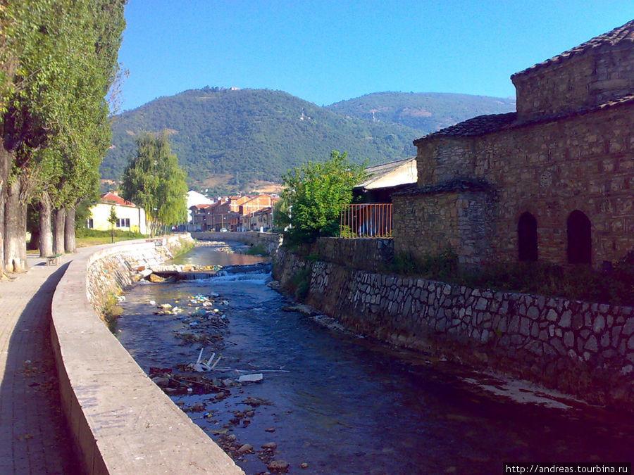 Река Вардар в Тетово