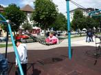 Детская площадка на набережной Гмундена