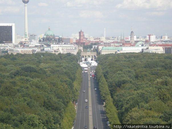 Просто вид на восточный Берлин.