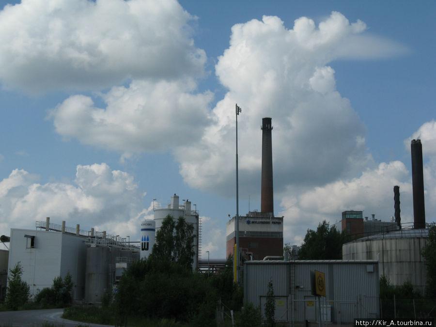 Бумагоделательный завод Мюлликоски