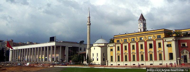 Площадь Скандербега Тирана, Албания