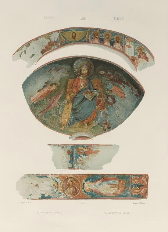 Рисунок из альбома графа