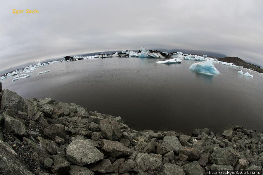 Ледниковая лагуна Jokullsarlon