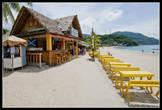 Один из баров на White Beach Пуэрто Галера