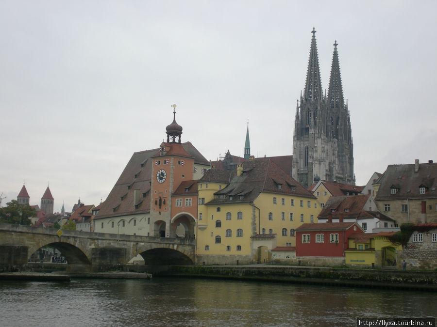 Город Регенсбург Регенсбург, Германия