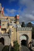 Португалия. Синтра Дворец Пена [Palacio Nacional da Pena]