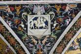 Деталь потолка Библиотеки Сиеского собора