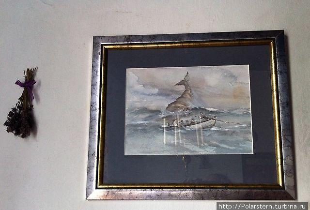 Картины расскажут о нелегком труде китобоя