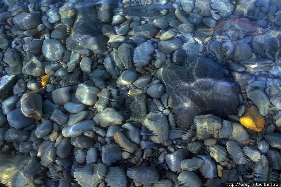 вода прозрачная на многие метры