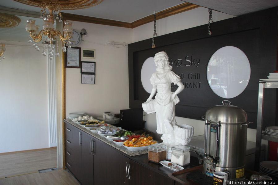 завтрак (1ый этаж) ресторан
