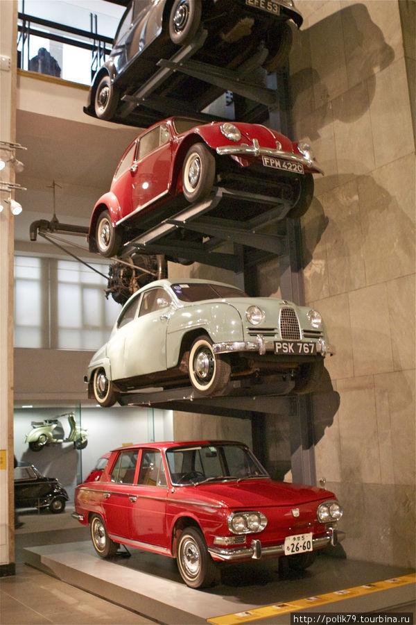 В Музее науки.