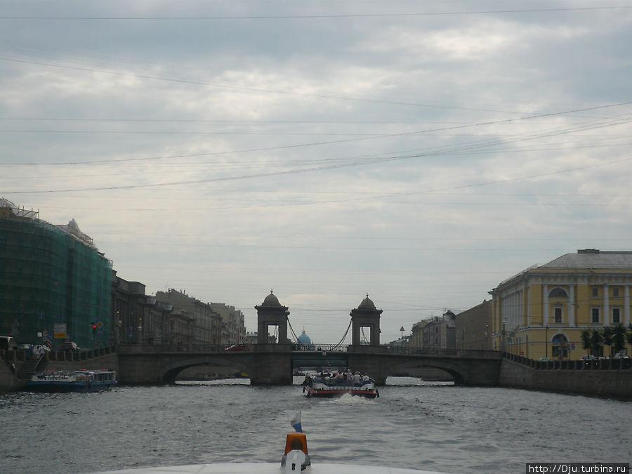 Цепной Мост Ломоносова