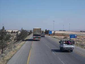 Трасса до Хомса
