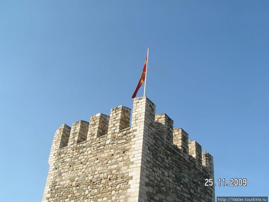 Одна из башен цитадели