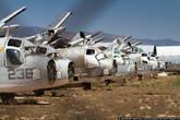 Здесь обосновались строевые части стратегической авиации и специальная группа техников, готовая расконсервировать старые самолёты.
