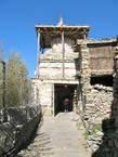 Каменная ступа — арка Тенги