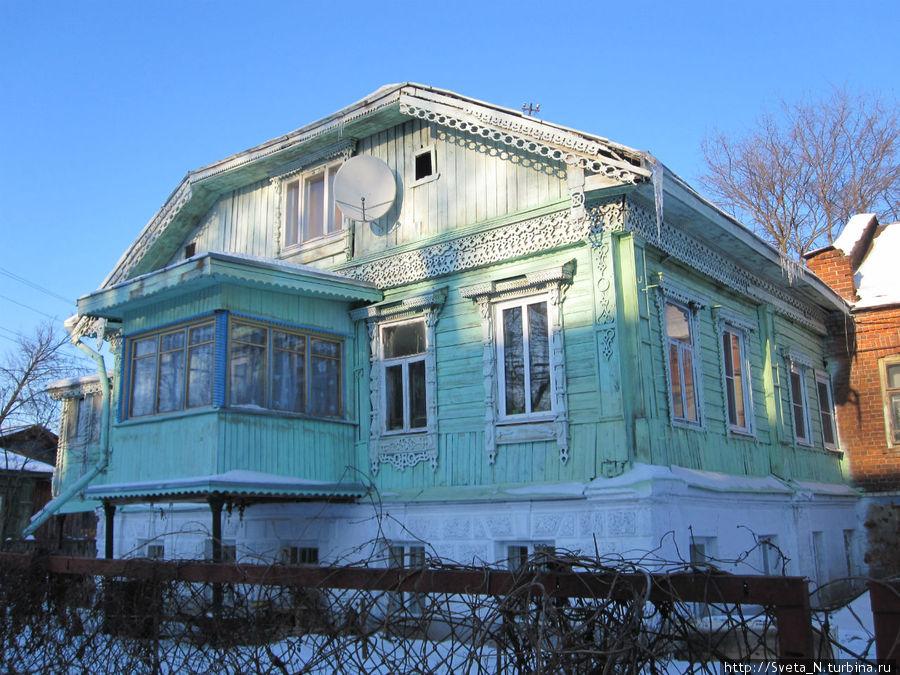 Один из домиков на ул.Островского