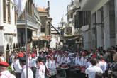Все улицы Бабтумы были заполнены оркестрантами и зрителями