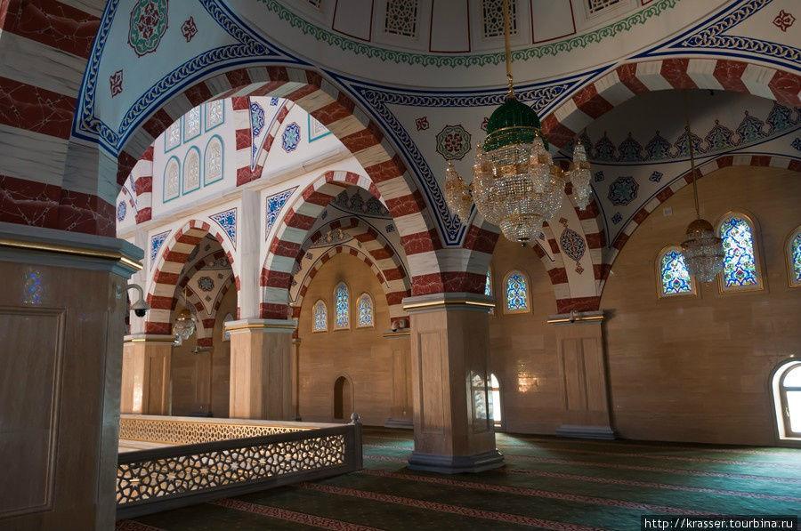 Мечеть «Сердце Чечни». Фоторепортаж