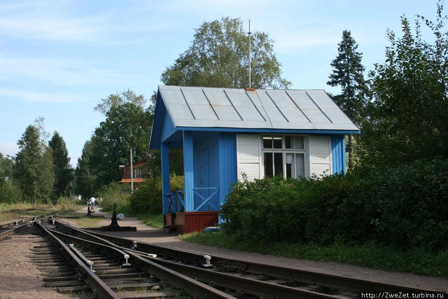 станция Озерная на северной МОЖД