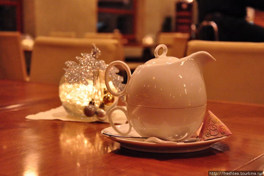 Чай вдвоем или с самим собой... Душевно в любом варианте.