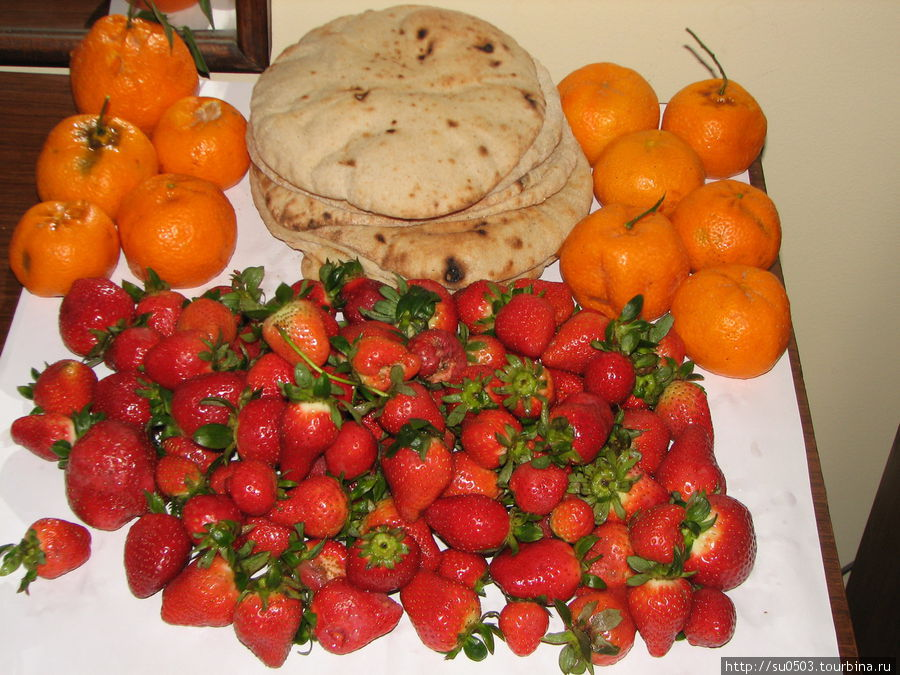Фруктово-ягодный ужин в г